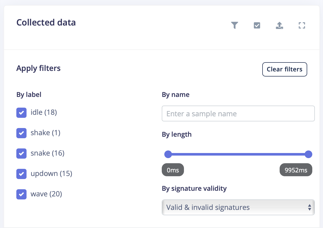 Better organize your ML data with new filters and batch operations